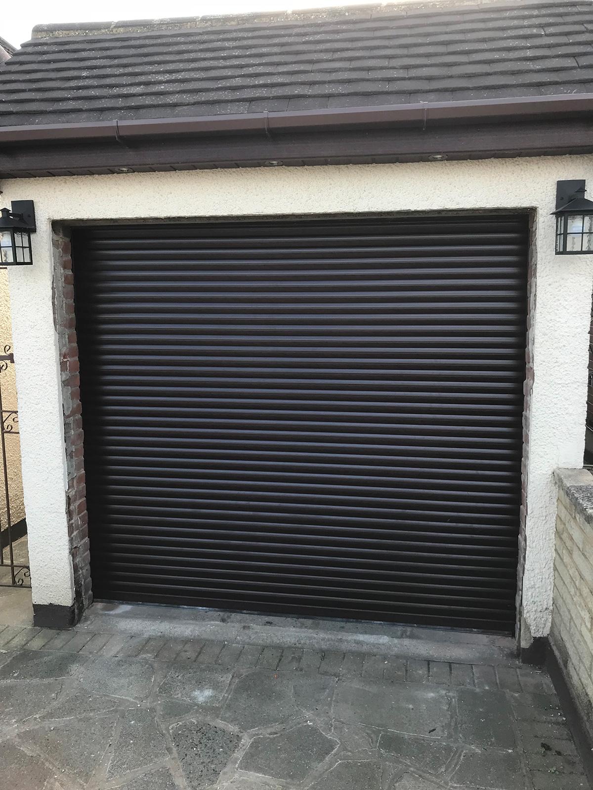 Roller garage door in essex
